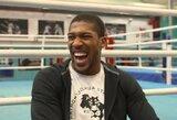 Iš D.Wilderio pasišaipęs A.Joshua įvardijo du UFC kovotojus, su kuriais norėtų susiremti narve