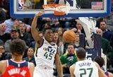 """Žibantis """"Jazz"""" naujokas neprieštarautų dalyvauti NBA dėjimų konkurse"""