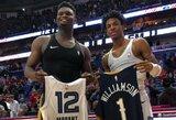 NBA paskelbė geriausių naujokų penketukus