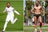 Neįtikėtiną fizinę formą pademonstravęs S.Ramosas pabandė įkvėpti komandos draugus