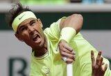 """""""Roland Garros"""" visų laikų rekordininkas R.Nadalis pergalingai pradėjo žygį link dar vieno titulo"""