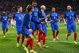 Prancūzija paskelbė naujausią rinktinės sudėtį