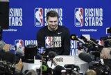 """Prieš NBA """"Visų žvaigždžių"""" savaitgalį daug dėmesio iš žurnalistų sulaukęs L.Dončičius patvirtino, kad atvyks į Lietuvą kovoti dėl kelialapio į olimpiadą"""