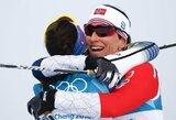 M.Bjoergen tapo tituluočiausia visų laikų žiemos olimpinių žaidynių sportininke