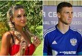 """""""Žiūrėk, kad Sočyje tau nesulaužytų pirštų"""": futbolininko žmonai – grasinimai po drąsaus gesto"""