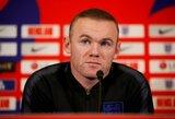 """R.Ferdinandas apie W.Rooney posūkį į trenerio karjerą: """"Jo galutinis tikslas – treniruoti """"Manchester United"""""""