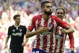 """Kovoje dėl antros """"La Liga"""" vietos pergale džiaugėsi """"Atletico"""""""