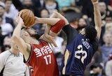 """""""Raptors"""" apžvalgininkas džiaugiasi: """"JV pranoko NBA žvaigždę"""""""
