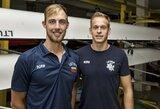 Jaunimo irklavimo rinktinė į Europos čempionatą išvyko kovoti dėl medalių