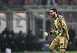 """""""Milan"""" fanų pyktį sukėlęs G.Donnarumma sutiko derėtis dėl naujo kontrakto"""