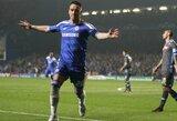 """Po 120 minučių futbolo """"Chelsea"""" sugebėjo prasibrauti į kitą Čempionų lygos etapą"""
