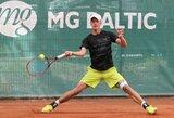 Geriausių pasaulio tenisininkų reitinge L.Mugevičius pasiekė rekordines aukštumas