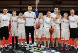 """""""One Team"""" rungtynės Vilniuje: ant """"Ryto"""" komandos suoliuko – ypatingi svečiai"""