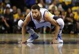 S.Curry vis dar prisimena lemiamą klaidą septintose NBA finalų rungtynėse