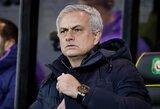 J.Mourinho buvo nepatenkintas dėl auklėtinių kartojamų klaidų