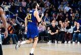 """""""Barcelona"""" iškovojo Eurolygoje dar vieną užtikrintą pergalę"""