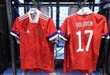 """Po naujų """"Adidas"""" aprangų pristatymo – pyktis Rusijoje dėl sumaišytų spalvų"""