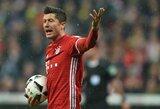 """R.Lewandowskis kaltina C.Ancelotti dėl pasipylusių """"Bayern"""" traumų"""