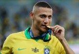 """Pamatykite: """"Copa America"""" turnyro finale pelnytą įvartį močiutei skyręs Richarlisonas užmiršo jos vardą"""
