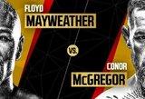 Paaiškėjo, kelintą valandą Lietuvos laiku turėtų vykti C.McGregoro ir F.Mayweatherio dvikova