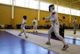 Sporto vilčių žaidynėse – ir fechtuotojų kovos