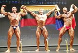 WFF Europos kultūrizmo ir fitneso čempionate – du lietuvių aukso medaliai