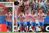 """Ispanijoje - """"Atletico"""" iškovojo pergalę, """"Real"""" mačas nukeltas į pirmadienį"""
