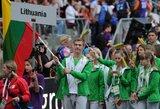 Sportininkų linkėjimai Europos jaunimo olimpinio festivalio dalyviams