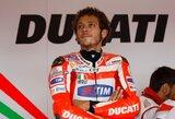 """V.Rossi greičiausiai ir kitais metais atstovaus """"Ducati"""""""