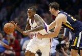 """Siautėjęs J.Crawfordas užtikrino """"Clippers"""" komandai vietą atkrintamosiose"""
