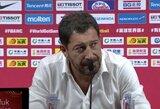 Turkai apgailestavo dėl paleisto šanso, o treneris atskleidė, kodėl pertraukėlės metu apsikabino žaidėjus