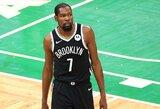 """Po traumos atsigaunantis K.Durantas vedė """"Nets"""" į priekį"""