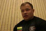 M.Brazauskas pasaulio galiūnų čempionate – 8-as