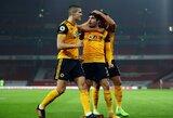 """""""Wolves"""" išvykoje išrašė """"Arsenal"""" dar vieną pralaimėjimą"""
