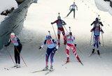 Pasaulio biatlono taurės etape Austrijoje N.Kočergina aplenkė D.Rasimovičiūtę