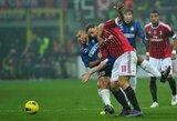 """Italijos """"Serie A"""" čempionato apžvalga: """"Inter"""" – """"Milan"""""""