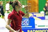Didžiausias badmintono turnyras Lietuvoje šeimininkams nebuvo sėkmingas