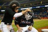 D.Neverauskas pirmą kartą šiame MLB sezone sužaidė du kėlinukus