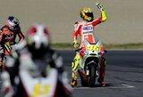 """V.Rossi yra patenkintas """"Ducati"""" motociklo valdymu"""