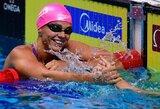 G.Titenis Prancūzijoje nepateko į A finalus, J.Jefimova susirinko dar du medalius