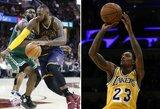 """NBA reitingas: lydere tapusi čempionė ir didžiulis """"Lakers"""" šuolis"""