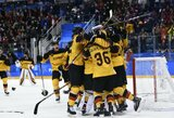 Sensacija: po septynių įvarčių trilerio vokiečiai pirmą kartą istorijoje pateko į olimpinį finalą!