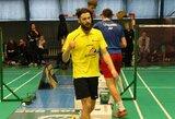 K.Navickas prestižiniame badmintono turnyre vos nepateikė didelės sensacijos