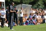 """""""Juventus"""" treneriui M.Sarri diagnozuota pneumonija"""
