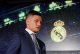 """Jaudinanti """"Real"""" puolėjo L.Jovičiaus istorija: siekti sėkmės futbole įkvėpė sunki sesės kova su leukemija"""