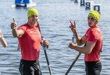 Lietuvos baidarių ir kanojų irkluotojams Europos žaidynėse dar teks pakovoti dėl vietų finale