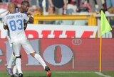 """""""Inter"""" iškovojo pergalę ir pakilo į pirmą vietą"""