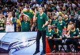 FIBA pašalino D.Adomaičio spaudos konferenciją, tačiau po kiek laiko ją sugrąžino (atnaujinta)