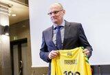 V.Urbonas: apie pasirinktą trenerių štabą ir rinktinės sudėtį ateinančioms rungtynėms