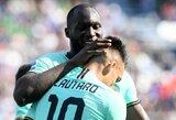 """7 įvarčių fiesta Italijoje baigėsi """"Inter"""" pergale"""